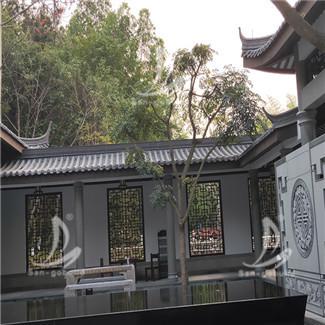 四川寺庙仿古小青瓦项目