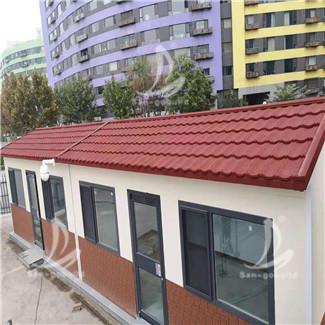 集装箱房屋金属瓦项目